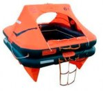 4 water iso deep sea rafts 4 people, bag ref LR01104, Container ref LR 01204