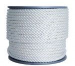 Geo Twist polyester, 8mm, 100m, White, ref CR200008