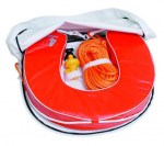 Mob Buoy, Withe. Orange life belt, ref BU 100330
